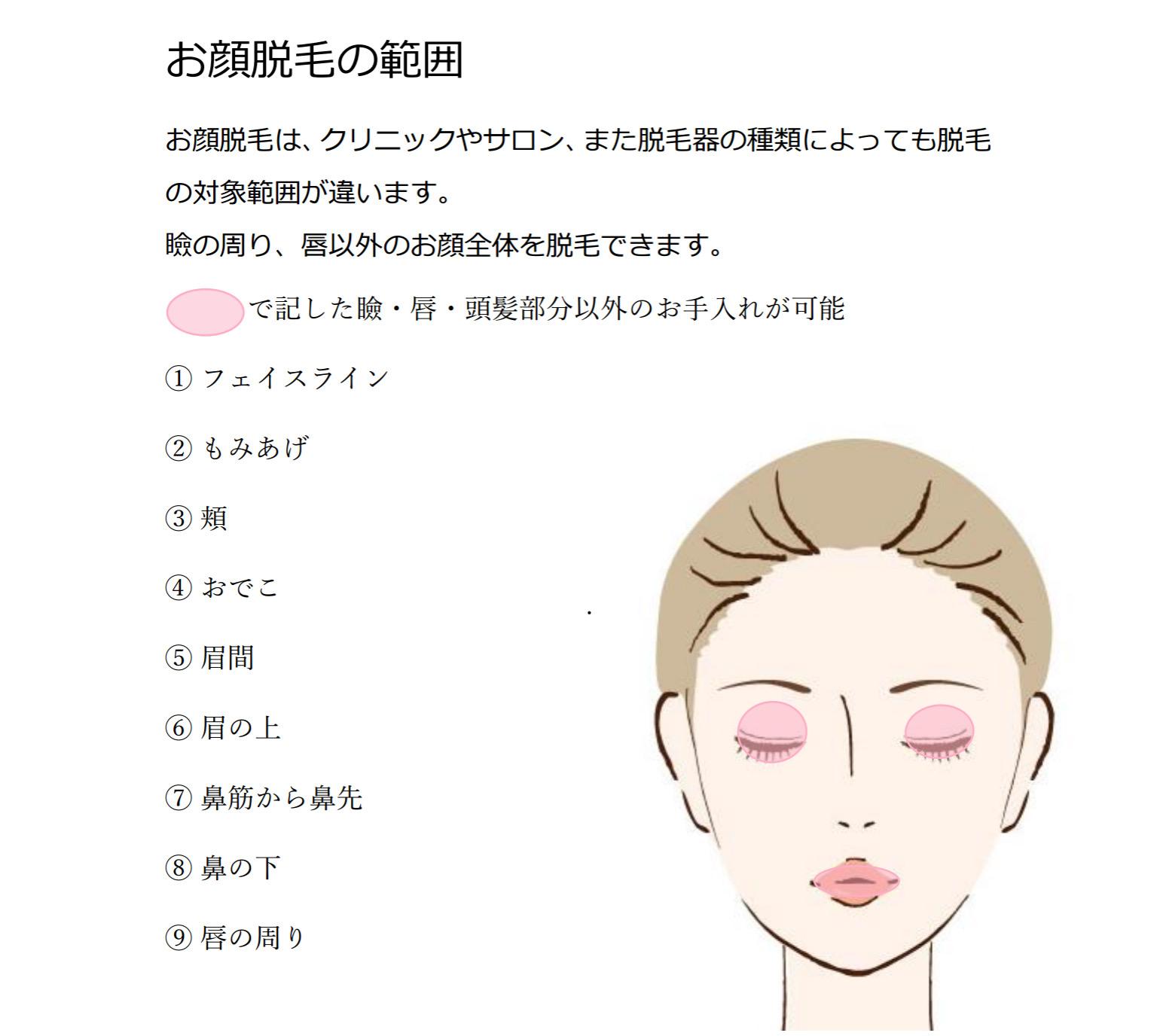 成城脱毛サロンで顔脱毛毛穴の悩み改善